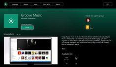 Lapplication universelle Groove Musique est disponible sur Xbox One