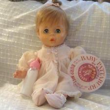 VINTAGE 1963 MATTEL BABY PATTABURP ~ EXCELLENT & WORKING ~