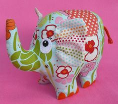 Phoebe the Elephant Sewing Pattern by Melly