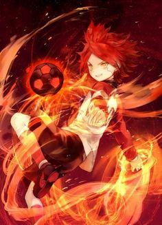 Burn - torch-bicons-burn-inazuma-eleven Photo