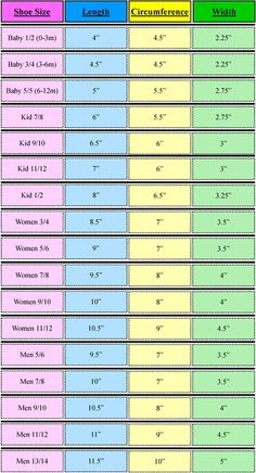 Several sizing charts from Glamour 4 You. – Heather Hilgers Several sizing charts from Glamour 4 You. Several sizing charts from Glamour 4 You. Crochet Chart, Knit Or Crochet, Crochet Stitches, Crochet Baby, Finger Crochet, Loom Knitting, Knitting Socks, Knitting Patterns, Crochet Patterns