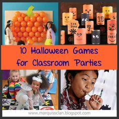 halloween games {for the classroom}