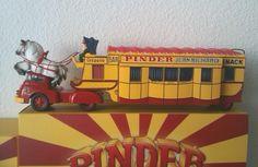 Snack BAR Crêperie Cirque Pinder Jean Richard Tracteur Berliet
