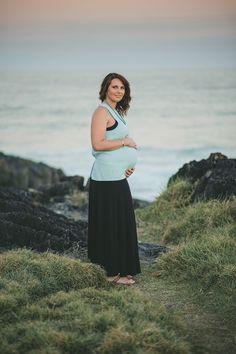 Pregnancy Beach Session Leah Moore   Coffs Harbour Portrait Photographer » Blog