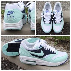 Nothing beats a bit of Monday morning minty freshness! New women's Air Max Ones available now! #nike #airmax #am1 #sneakers #womens #footasylum