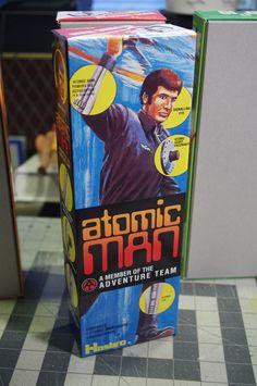Gene R., NJ - fellow Garden Stater, Gene, picks up the Atomic Man box!