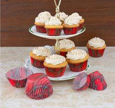Royal Stewart Medium Cupcake Papers - Set of 50