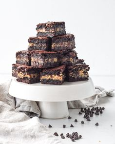 Cookie Dough Pie, Cookie Dough Brownies, Frozen Cookie Dough, Cookie Dough Recipes, Fudgy Brownies, Chocolate Brownies, Brownie Recipes, Dessert Recipes, Desserts