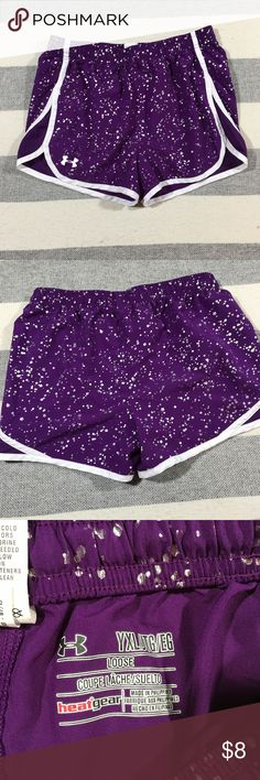Under Armour Girls Athletic Running Shorts XL In great condition, hardly worn. Size youth XL Under Armour Bottoms Shorts