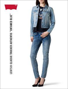 #jeansshop #jacket #Levis® #Trucker