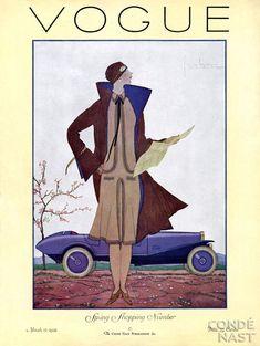 March 1926. Vintage Vogue Covers #vintage #vogue #covers