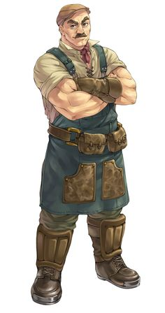 Hagel Boldness from Atelier Rorona: The Alchemist of Arland