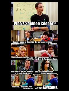 Big Bang Theory and Mean girls?...AWESOME!!!