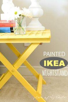 PAINTED IKEA NIGHTSTAND -
