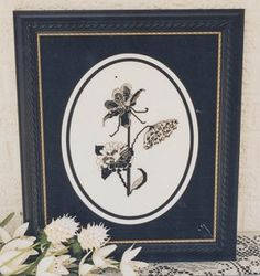 Floral Design Silhouette - (Cross Stitch) Find your next floral design at Cobweb Corner. Save 20% off your first order with coupon WELCOMECC  #crossstitch #flowers #cobwebcorner