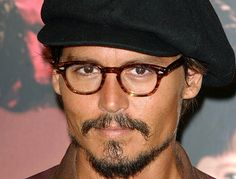 Johnny Depp: From Hollywood heartthrob to paunchy and portly Johnny Depp Glasses, People With Glasses, Eyewear Trends, Men's Eyewear, Here's Johnny, Wearing Glasses, Hot Actors, Oliver Peoples, Geek Chic