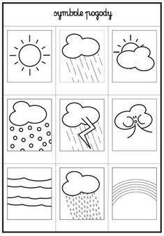 Preschool Weather, Weather Crafts, Preschool Activities, Primary School, Pre School, Portfolio Kindergarten, Learn Dutch, Dutch Language, Kids Class