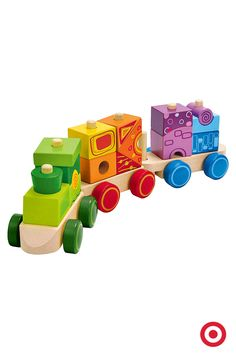 Hape Wooden Train