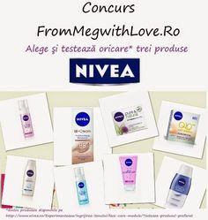 From Meg with Love Blog: Concurs Nivea - Alege şi testează oricare trei pro...