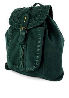 Deep green Handbag