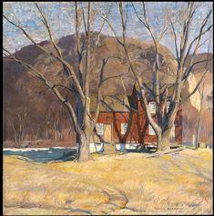 Impressionist Landscape, Impressionist Paintings, Landscape Art, Landscape Paintings, Pioneer House, Hope Art, Indianapolis Museum, American Impressionism, Plein Air