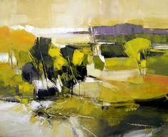 Hervé LENOUVEL - www.art-et-avenir.fr Watercolor Landscape, Landscape Art, Landscape Paintings, Abstract Art Images, True Art, Art Graphique, Oil Painting Abstract, Abstract Expressionism, Abstract Landscape