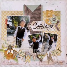 『Celebrate 5』  created with Basic Grey