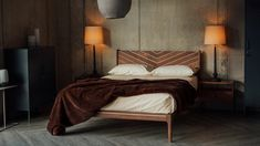 cosy-winter-bedroom-look-special-edition-hoxton-bed Timber Beds, Wood Beds, Winter Bedroom, Bed Company, Bed Slats, Under Bed, Furniture Companies, Handmade Wooden, Bed Frame