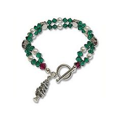 B417 - Chaton Christmas Bracelet Project - Only at... JewelrySupply.com