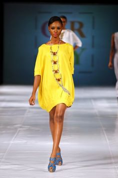 A great look from Grey, a Nigerian label. #statement