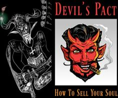 How to sell your soul to the Devil at the crossroads... #doktorsnake #devilspact