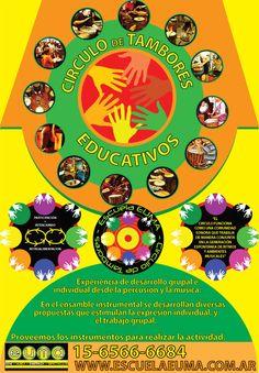 Escuela EUMA - Circulo de Tambores Educativo