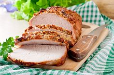 Cooking ham in a bag is easy and makes cleaning a breeze. The bag ensures even cooking and keeps the meat moist. Marinate the meat overnight for extra flavor. Cooking Pork Loin, Pork Loin Recipes Oven, Best Pork Tenderloin Recipe, Pork Tenderloin Oven, Cooking Ham, Crockpot Recipes, Cooking Tips, Easy Recipes, Baked Pork Roast