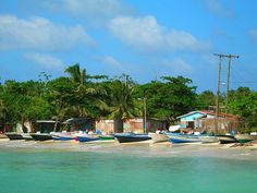 Pick up a panga and sail off to Little Corn Island. Near Nicaragua