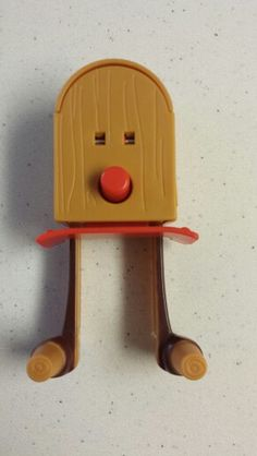 My son's toy has a face and legs. Lol