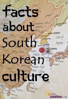 Learn about South Korean culture with these facts.