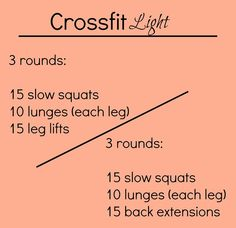Crossfit Light - At home exercise exertion Leg And Ab Workout, Baby Workout, Workout Exercises, Fitness Diet, Health Fitness, Health Goals, Fitness Inspiration, Crossfit Inspiration, Sweat It Out