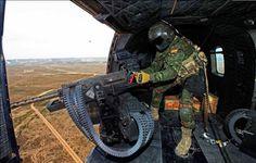 Nuevas ametralladoras de calibre 12.70mm para los helicópteros españoles del Ejército de Tierra