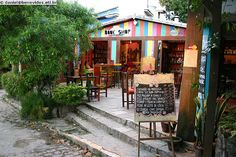 Pipa, Brasil - one of many cafes and bars