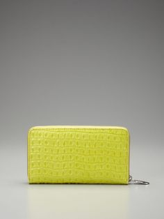 Zip Around Crocodile Wallet by Furla - never lose your wallet in your purse again!