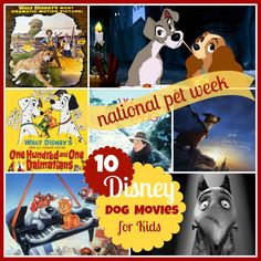 It's National Pet Week! 10 Disney Dog Movies Your Kids Will Love #familypet #familytime