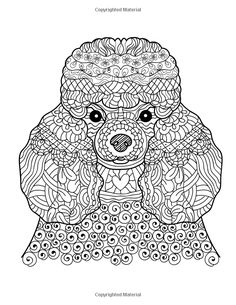 Dog Lover: Adult Coloring Book: Best Coloring Gifts for Mom, Dad, Friend, Women, Men and Adults Everywhere: Beautiful Dogs Stress Relieving Patterns: Gina Trowler, Dog Coloring Book, Adult Coloring Books Dogs: 9781519575777: Amazon.com: Books