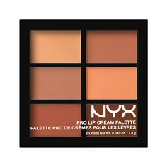 Pro Lip Cream Palette  The Nudes                                                                                                                                                                                 More