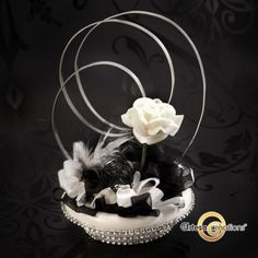 Table Rose, Feeling Great, Wedding Decorations, Art Floral, Black And White, Design Ideas, Party, Home Decor, Inspiration