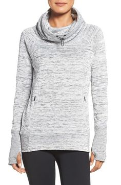 Zella 'Heartwarmed' Cowl Neck Pullover available at #Nordstrom