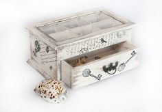 Multifuncional caja de madera de té, caja del té, ohtteam de caja, organizador de la joyería, joyería