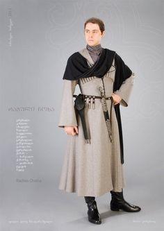 Shashavani day wear. Perfect for Luka or Iosef.    Rachian Chokha, by Samoseli Pirveli.