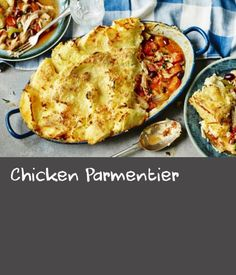 Try using up leftover roast chicken in this tasty potato-topped pie.For this recipe you will need a ovenproof dish. Dill Recipes, Weed Recipes, Roasted Potato Recipes, Roast Chicken Recipes, Oven Chicken, Yum Yum Chicken, Recipe Using Chicken, Fish Pie, Dill Weed