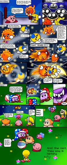 'What-if...' Comic: How Kirby started MW by KiKiD484 on DeviantArt. Hahahaha!!!