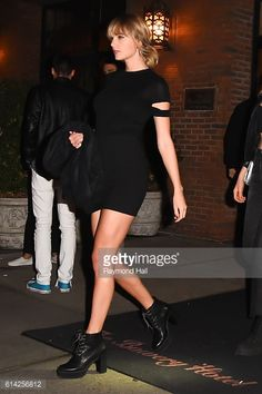 Taylor Swift is seen outside 'Lovers Of Today on October 12, 2016 in New York City.